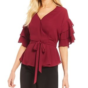 NWT H by Halston Blouse